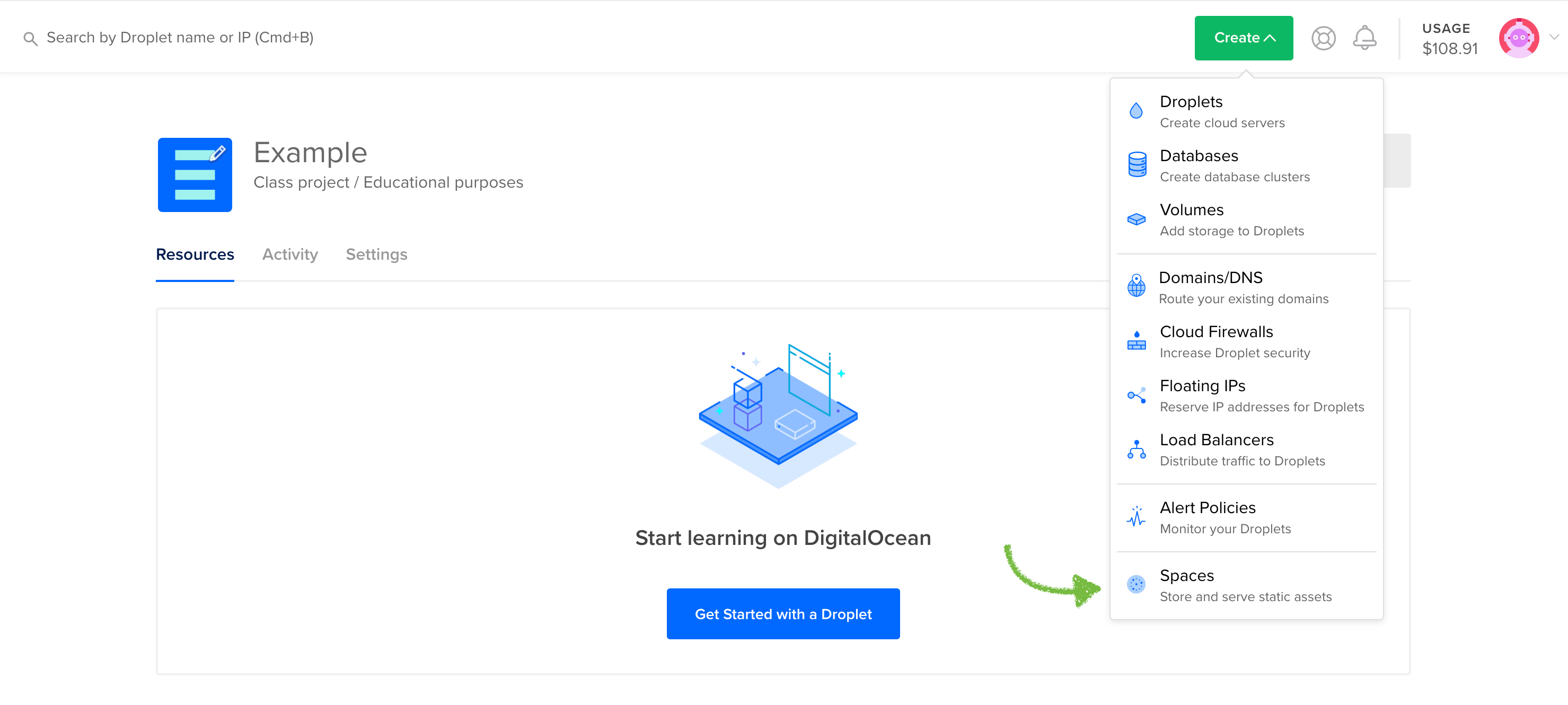 DigitalOcean Spaces