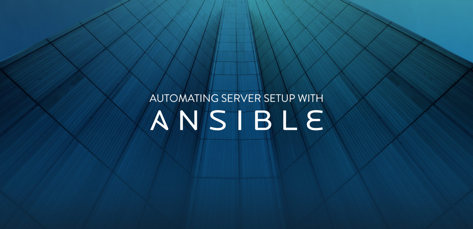 Automating server setup with Ansible